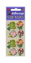 Load image into Gallery viewer, Pack of Furrie Stickers - Floral Posies