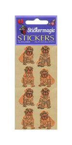 Pack of Furrie Stickers - Shar Peis