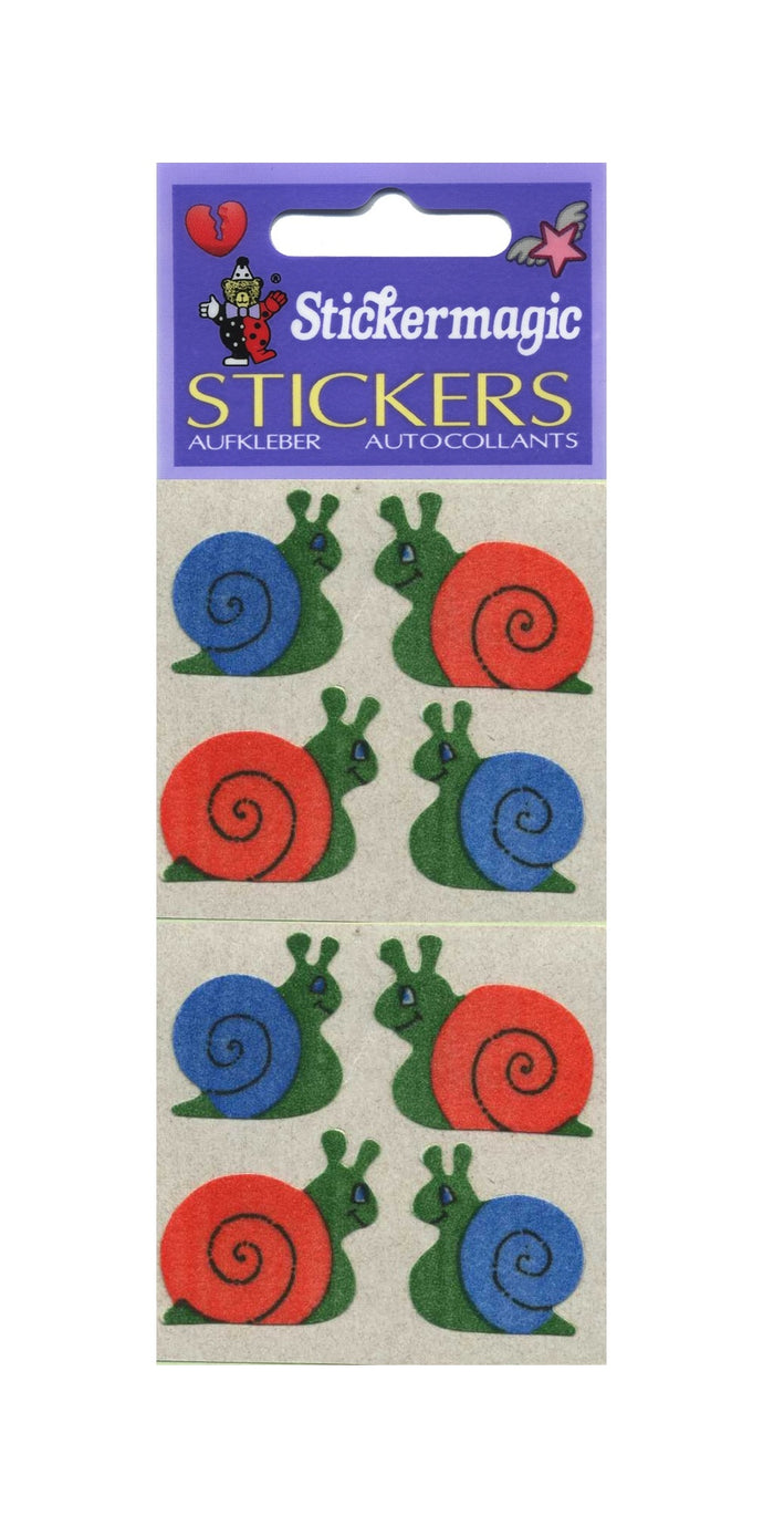Pack of Furrie Stickers - Snails