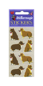 Pack of Furrie Stickers - Collies