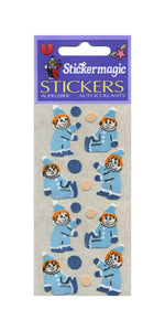 Pack of Furrie Stickers - Clowns