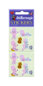 Pack of Pearlie Stickers - Happy Babies