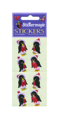 Pack of Pearlie Stickers - Winter Penguins