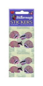 Pack of Pearlie Stickers - Badgers