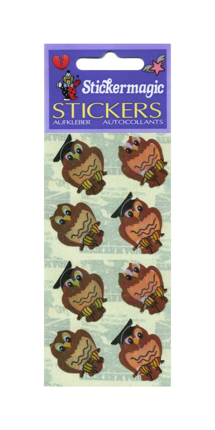 Pack of Pearlie Stickers - Wise Owls