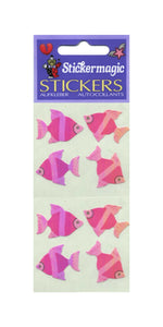 Pack of Pearlie Stickers - Angel Fish