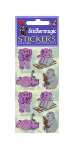 Pack of Pearlie Stickers - Elephants