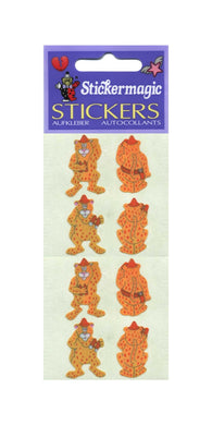 Pack of Pearlie Stickers - Leopards