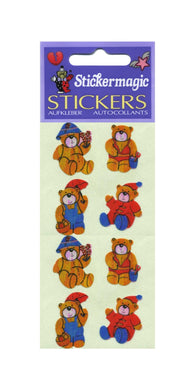 Pack of Pearlie Stickers - 4 Seasons Ted