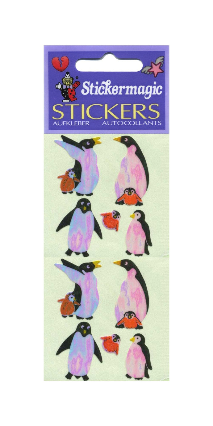 Pack of Pearlie Stickers - Penguins