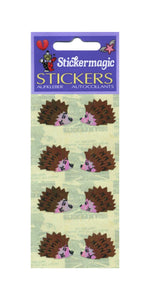 Pack of Pearlie Stickers - Hedgehogs
