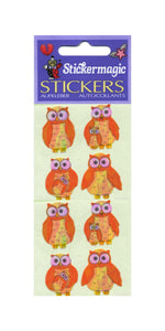 Pack of Pearlie Stickers - Mother & Baby Owl