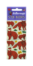Load image into Gallery viewer, Pack of Pearlie Stickers - Foxes