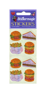 Pack of Pearlie Stickers - Fast Food