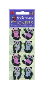 Pack of Pearlie Stickers - Pandas