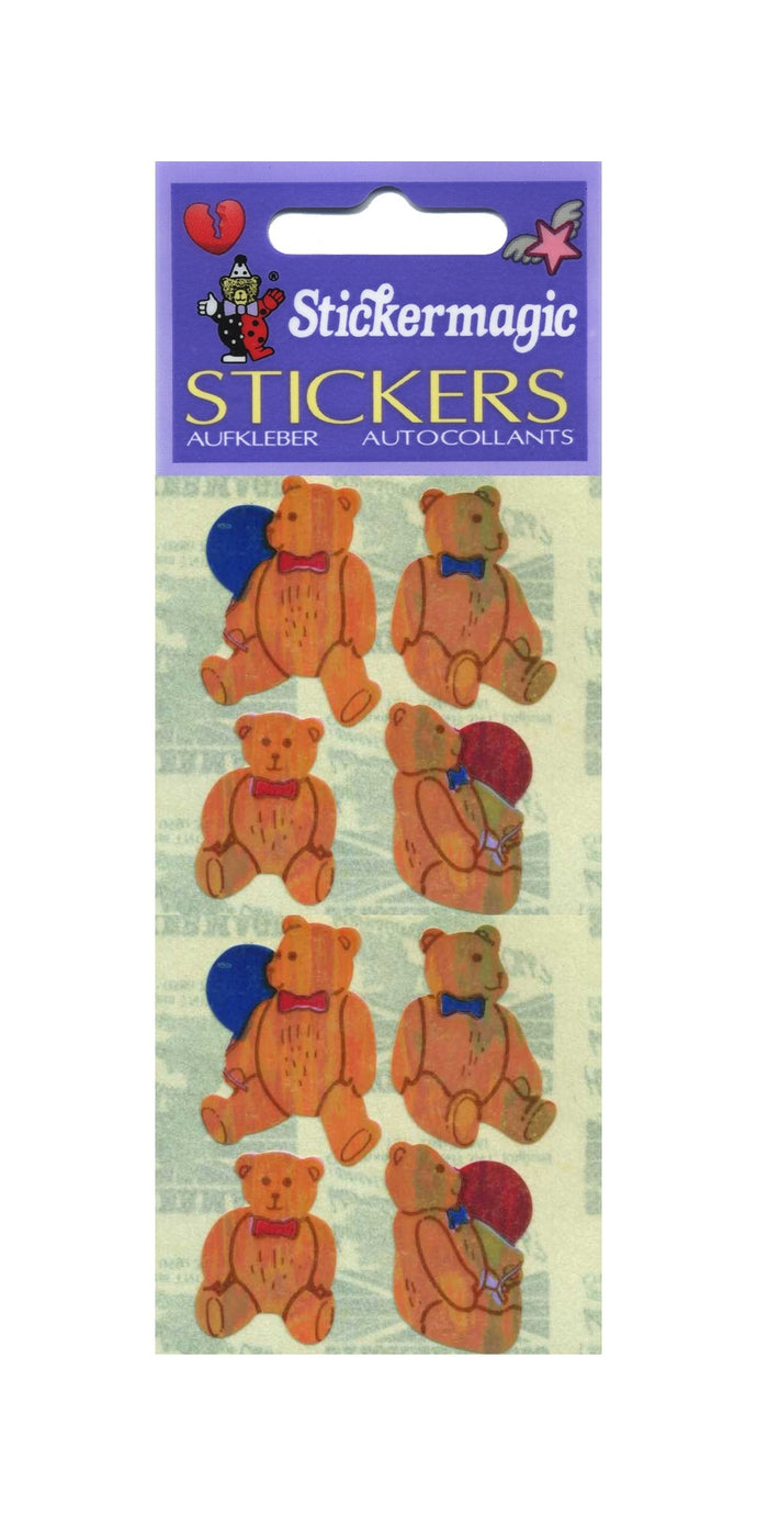 Pack of Pearlie Stickers - Traditional Teddies