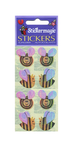 Pack of Pearlie Stickers - Bees