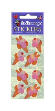 Pack of Pearlie Stickers - Ice Creams