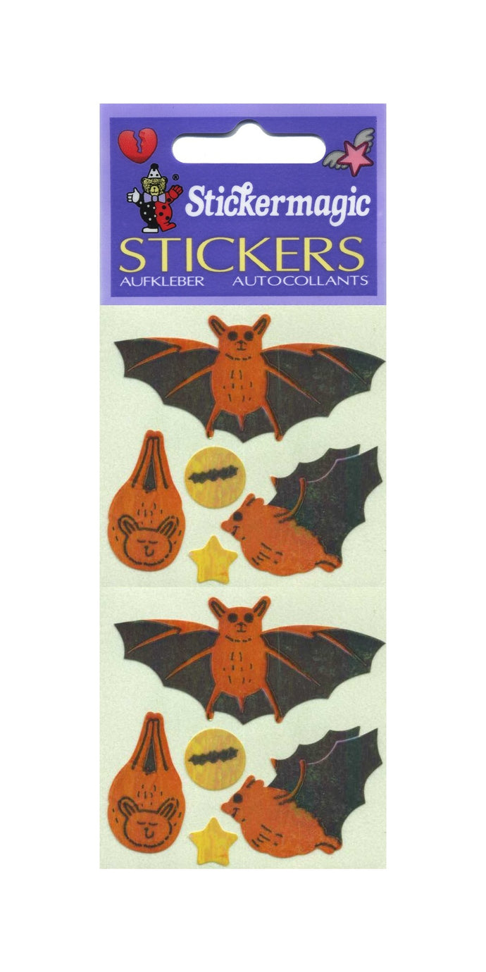 Pack of Pearlie Stickers - Bats