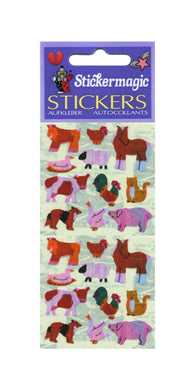 Pack of Pearlie Stickers - Micro Farmyard Friends