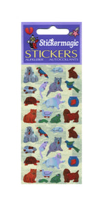 Pack of Pearlie Stickers - Micro Pets