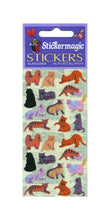 Load image into Gallery viewer, Pack of Pearlie Stickers - Micro Cats