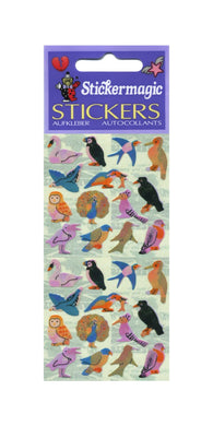 Pack of Pearlie Stickers - Micro Birds