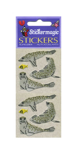 Pack of Furrie Stickers - Seals & Fish