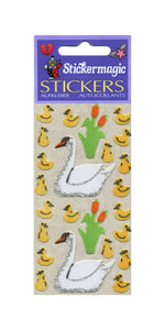 Pack of Furrie Stickers - Swans & Cygnets
