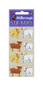 Pack of Furrie Stickers - Goat Kids