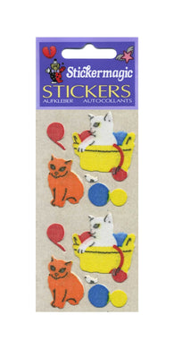 Pack of Furrie Stickers - Kittens Playing