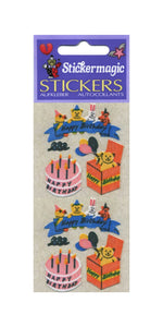 Pack of Furrie Stickers - Birthday Cake
