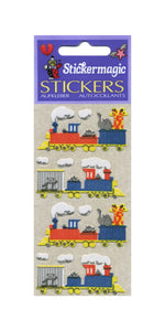 Pack of Furrie Stickers - Animal Trains