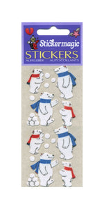 Pack of Furrie Stickers - Polar Bear