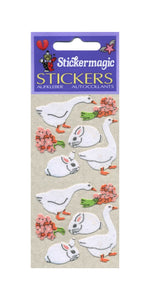 Pack of Furrie Stickers - Geese & Bunnies