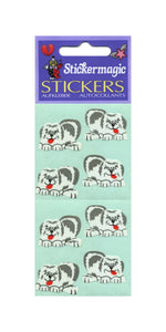Pack of Paper Stickers - Sheepdogs
