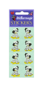 Pack of Paper Stickers - Dalmatian Puppies
