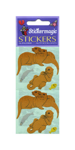 Pack of Paper Stickers - Otters