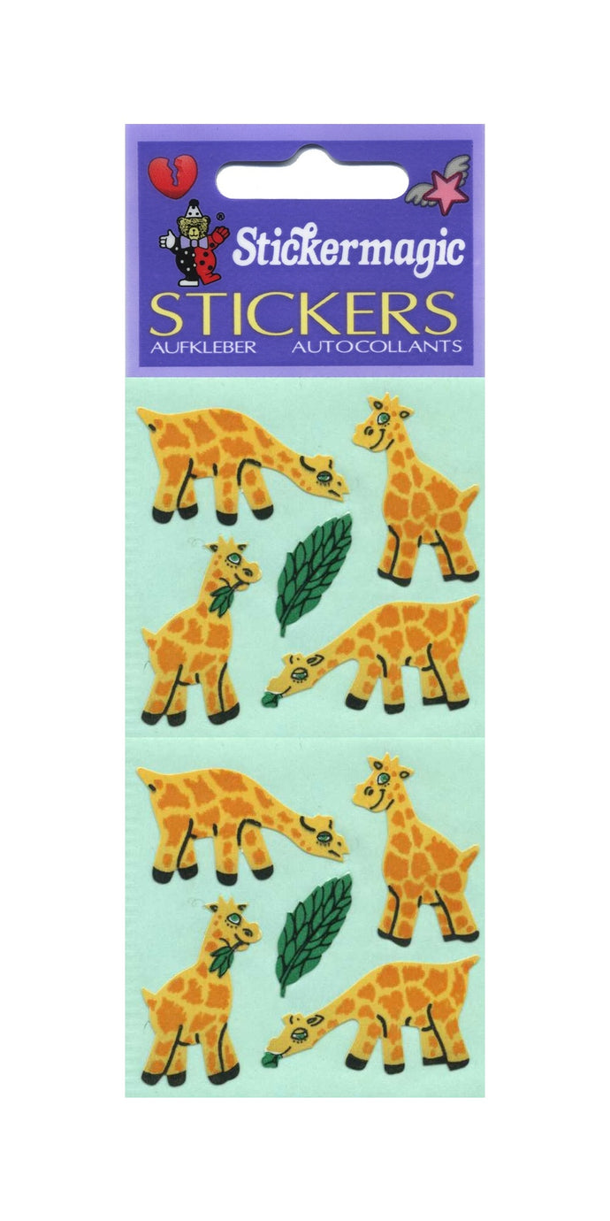 Pack of Paper Stickers - Giraffes