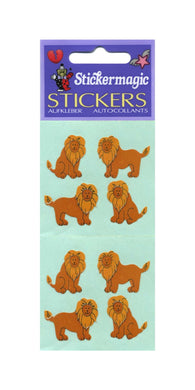Pack of Paper Stickers - Lions