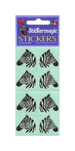 Pack of Paper Stickers - Zebras