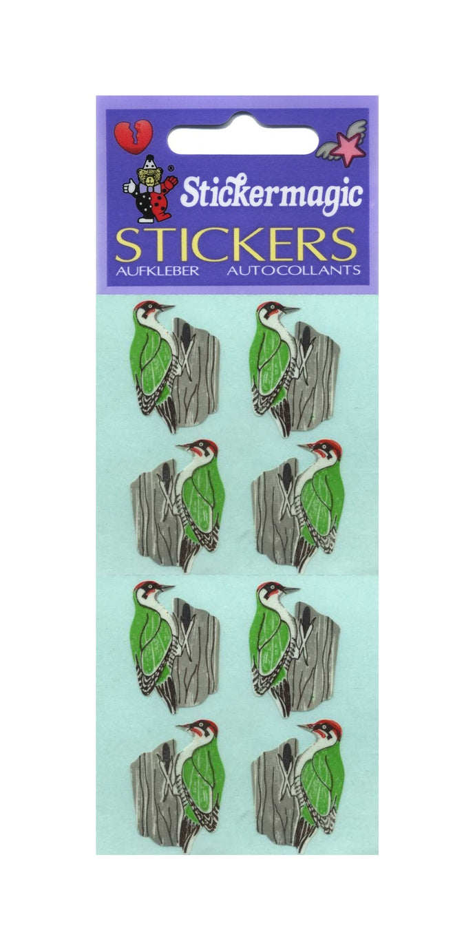 Pack of Paper Stickers - Woodpeckers