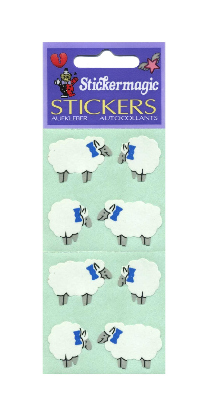 Pack of Paper Stickers - Sheep
