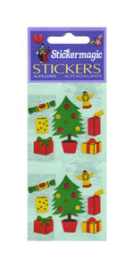 Pack of Paper Stickers - Christmas Trees