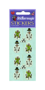 Pack of Paper Stickers - Snowmen