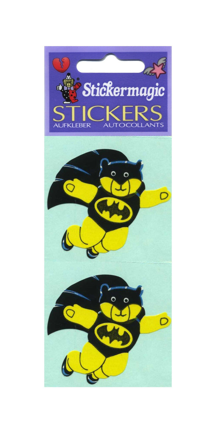 Pack of Paper Stickers - Bat Ted