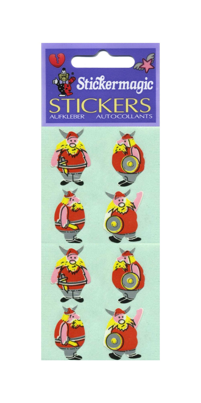 Pack of Paper Stickers - Vikings