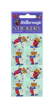 Load image into Gallery viewer, Pack of Paper Stickers - Teddy Clowns