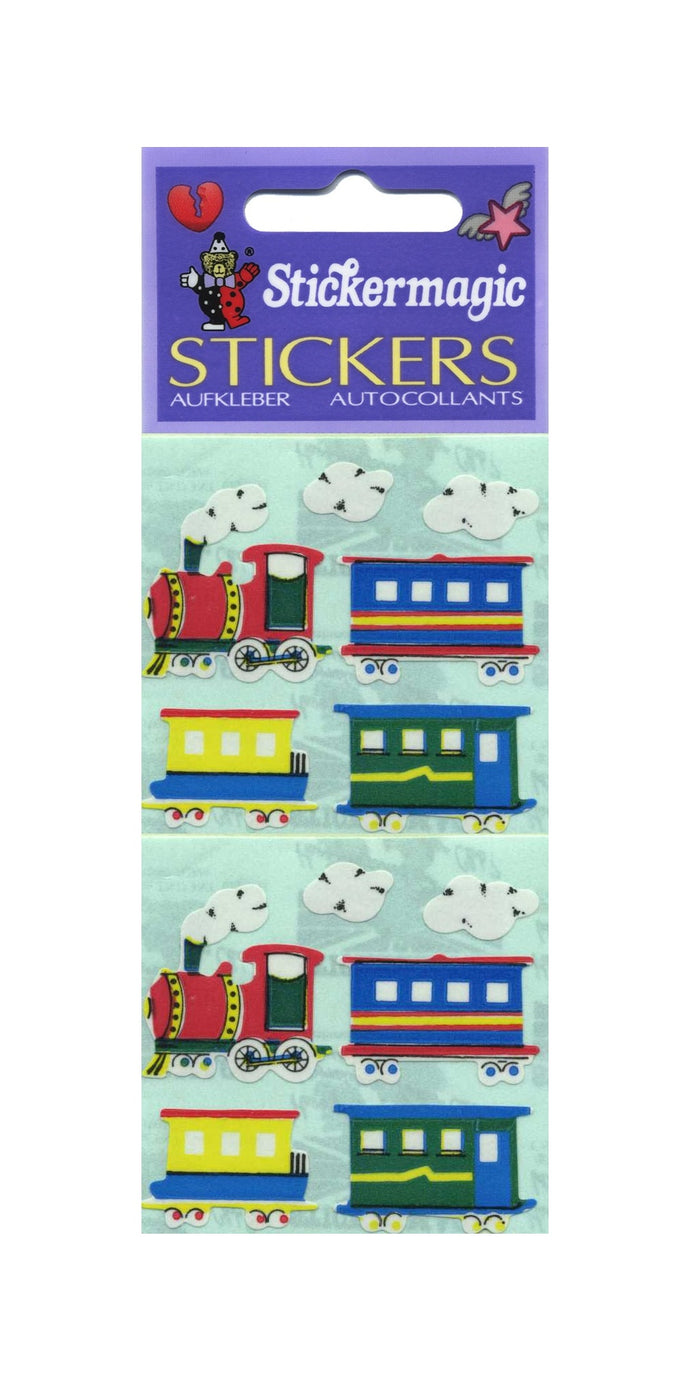 Pack of Paper Stickers - Steam Trains