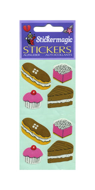 Pack of Paper Stickers - Cakes